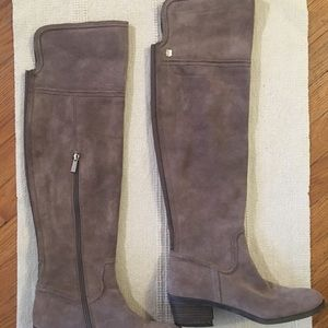 Vince Camuto suede over the knee boot. Size 9.